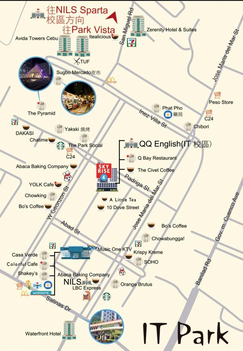 IT Park Map