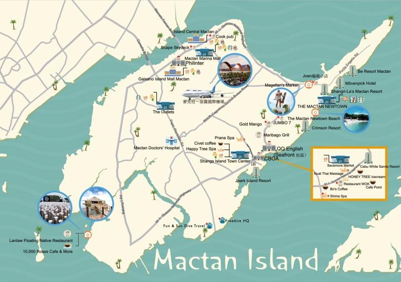 Mactan Map
