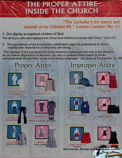 Simala-Shrine-Proper-Attire-inside-the-Church